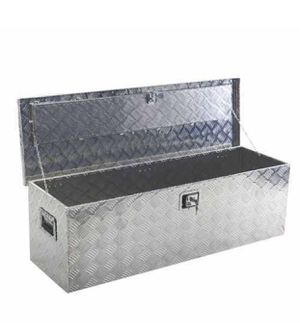 "49"" Aluminum Truck Pickup ATV Camper Tool Box for Sale in Moreno Valley, CA"