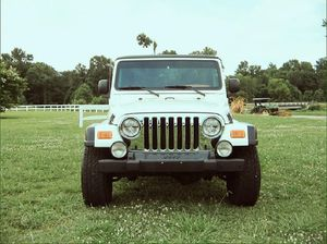 Best offer 2003 Jeep Wrangler Rubicon 4WDWheels for Sale in Milwaukee, WI