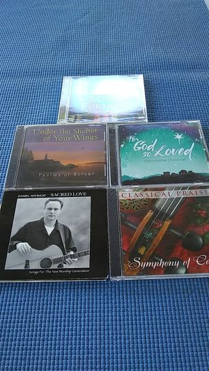 6 inspiration and prayer cds for Sale in Peoria, AZ