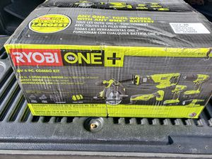 Ryobi 18v 6 tool combo set for Sale in Riverview, FL