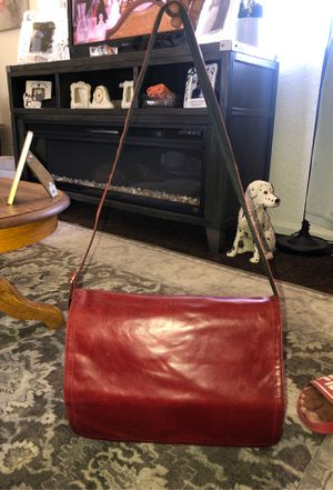 Leather book bag / laptop tote / business tote for Sale in Stockton, CA