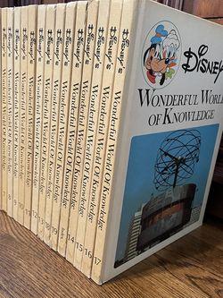 Disney's wonderful world of knowledge encyclopedia complete set for Sale in Fullerton,  CA
