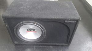 MTX Audio Thunder TCE5512D 10' sub for Sale in Hillsboro, OR