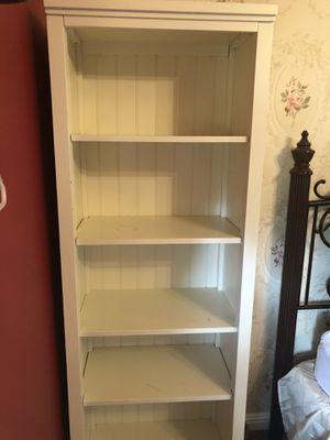 Pottery Barn Teen Beadboard Bookcase Tower for Sale in Alamo, CA