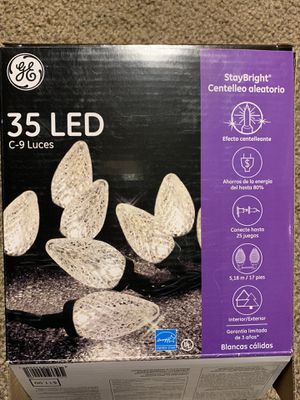 7 boxes LED C9 lights for Sale in Leavenworth, WA