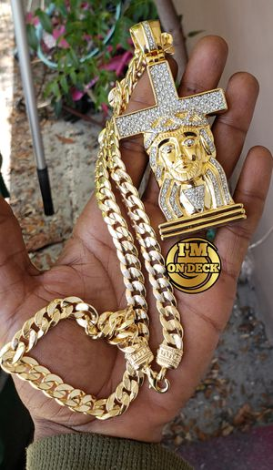 👑👑👑14k Gold Filled chain 🔥🔥🔥I Deliver🚘🚘🚘💱💱💱💯💯 for Sale in Miami, FL