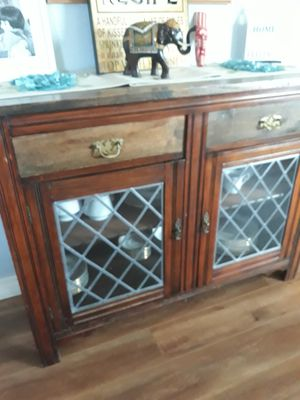 Antique China cabinet for Sale in Lancaster, CA