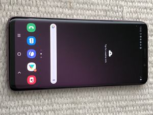 Excellent Unlocked Samsung Galaxy S9 + PLUS for any Company. Works with att, Tmobile, metro pcs, cricket, and overseas. UNLOCKED. Comes with charg for Sale in San Francisco, CA