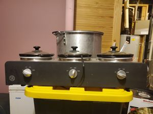 Triple Slow Cooker and Buffet Server for Sale in Alexandria, VA