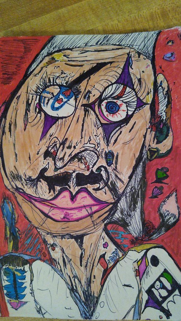 Original Art Abstract color sketches