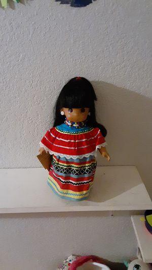 Precious Moments Native American Doll for Sale in Aurora, CO