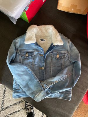 Old navy sherpa lined denim jacket for Sale in Santa Ana, CA