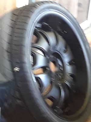 22 inch rims for Sale in Port St. Lucie, FL