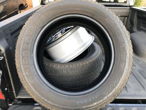 4X 275/55/20 Bridgestone Dueler H/L NEW for Sale in Escondido, CA