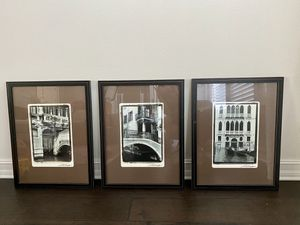 Crate & Barrel Venice Pictures (set of 3) for Sale in St. Petersburg, FL