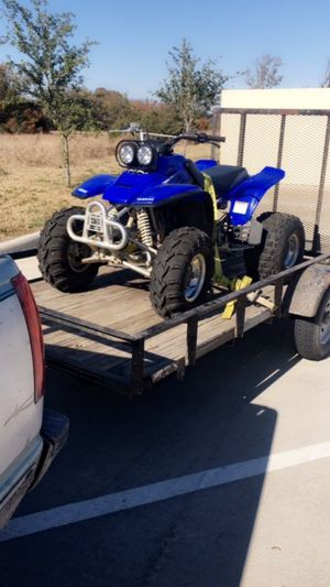 Yamaha 350 warrior 6spd with reverse for Sale in McKinney, TX