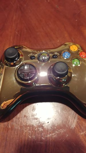 Microsoft Xbox 360 Special Edition Chrome Series Wireless Controller for Sale in Burtonsville, MD