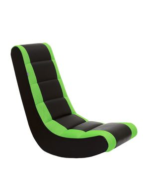 The Crew Furniture Classic Video Rocker Gaming Chair, NEON GREEN/BLACK for Sale in Rochester, NY