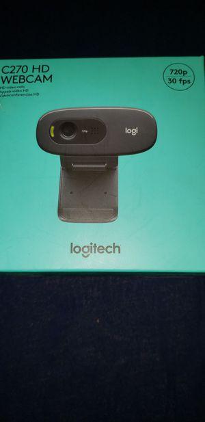 Webcam Logitec C270 HD, 320p/30fps for Sale in Manassas, VA