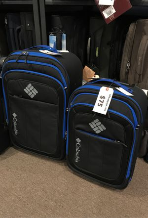 Columbia duffle style two wheeled suitcase travel bags for Sale in San Diego, CA