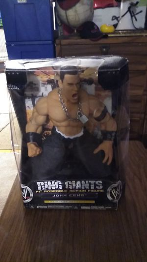 14 inch John Cena poseable action figure for Sale in Parma Heights, OH