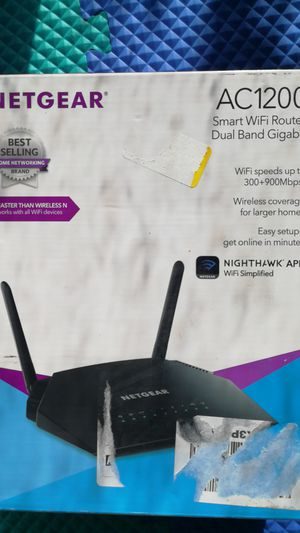 netgear ac1200 wifi router for Sale in Austin, TX