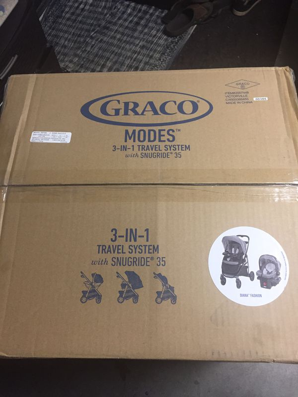 Graco Modes 3 in 1 travel system