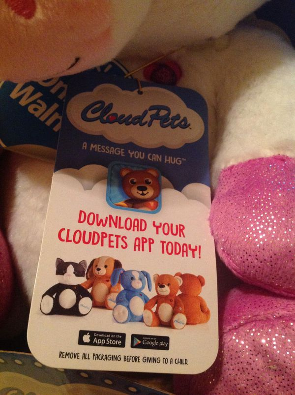 Cloud Pets NEW ! $15. EACH can use IPhone