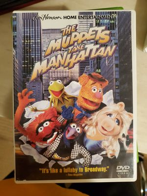 Movies on DVD: The muppets take manhattan, shrek 2, bolt, madagascar, brother bear, bambi, naruto legend of the stone of gelel for Sale in Irvine, CA