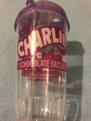 Charlie and the chocolate factory cup broadway playbill for Sale in Bronx, NY