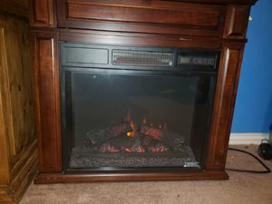 Electric fireplace for Sale in Fort Worth, TX