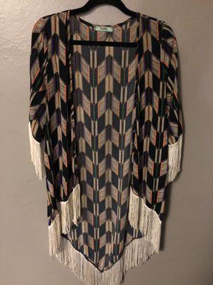 Bohemian Kimono with Fringe for Sale in Atlanta, GA