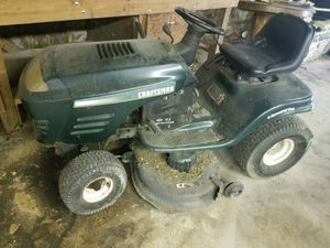 Craftsman ride mower for Sale in White Plains, MD