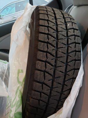 bridgestone blizzak ws80 winter tires with rims 205/65 R16 for Sale in Syracuse, NY
