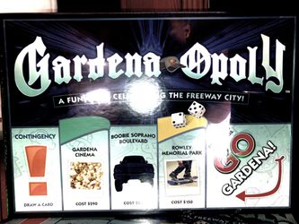 GARDENA-OPOLY (MONOPOLY) for Sale in Hawthorne,  CA