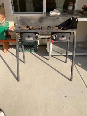 "32"" double propane burner for Sale in Fresno, CA"