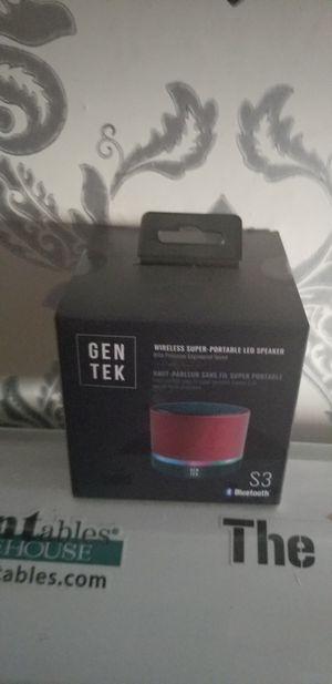 Gen tek s3 bluetooth speaker for Sale in Las Vegas, NV