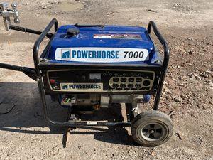 POWERHORSE generator 7000 for Sale in Houston, TX