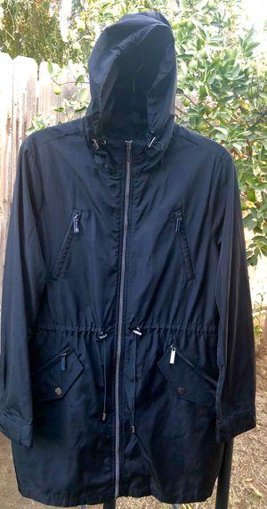 🌺 BEAUTIFUL MICHAEL KORS LARGE HOODIE RAINCOAT ••$65 for Sale in Bakersfield, CA