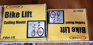 2 x Garage Bike lifts: Racor - PBH-1R, Bike Storage, Garage Pulley Lift for Sale in Playa del Rey, CA