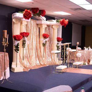 Rose Gold Sequin Table Cloths for Sale in Henderson, NV