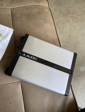 JL audio jd 1000w amp for Sale in Modesto, CA