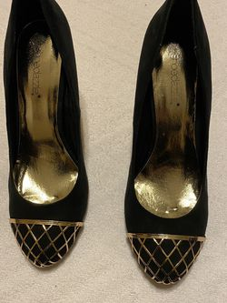 Black & Gold High Heels for Sale in Richmond,  TX