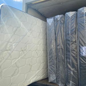 Queen mattress + FREE box spring ! ‼️MUST GO‼️ 💥all sizes and prices available 💥 🔥from $90🔥 for Sale in Miami, FL