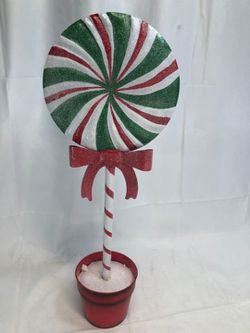 "22"" Metal Decorative Lollipop Topiary for Sale in Pompano Beach,  FL"