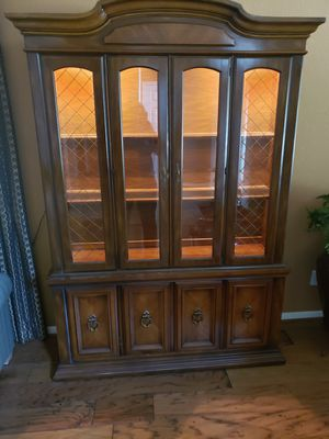 CHINA CABINET for Sale in Clodine, TX
