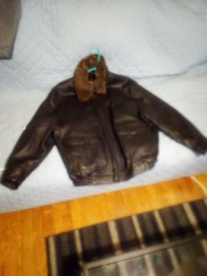 Joseph a bank large leather jacket for Sale in Louisville, KY