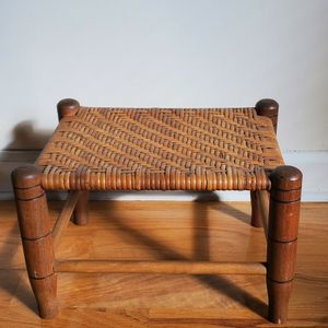Woven Vintage Foot Stool for Sale in Plainview, NY