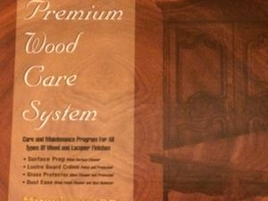 Premium wood care system still in the box for Sale in Alexander, NC