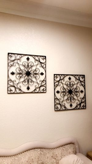 Set of two Iron Wall Art Decor for Sale in El Cajon, CA
